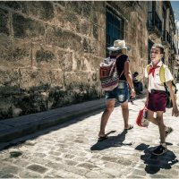 Жизнерадостный пионЭр...Куба и ее люди!!!... Улицами старой Гаваны... :: Александр Вивчарик