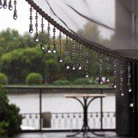 А за окном - дождь... :: Ирина Румянцева