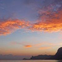 закат на море :: Serge Riazanov