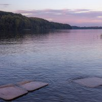 На вечернем озере :: Вадим Вайс