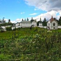 Валдай Внутренний двор монастыря :: Наталья