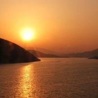закат в Китае :: Павел Шалаев