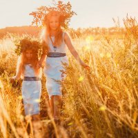 Две сестры :: Марина Андрейченко (Яцук)