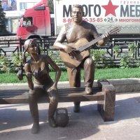 Памятник Сергею Есенину нужен в Подмосковном городе Люберцы... :: Ольга Кривых