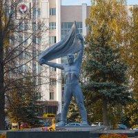 Осень в Ижевске у Вечного огня :: Владимир Максимов