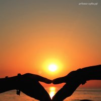 Фото на закате у моря :: Михаил Тихонов