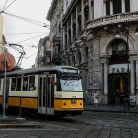 В Милане. Трамвай :: сергей адольфович