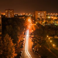 Ночная  улица :: EDO Бабурин