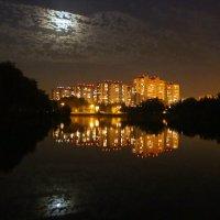 Сентябрьский вечер у озера :: Татьяна Ломтева