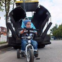 ребенок и техника :: Александр Прокудин