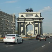 Триумфальная арка. :: Надюша