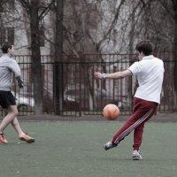Подача мяча. :: Ирина Солощ