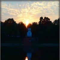 Закат в Пскове... :: Fededuard Винтанюк