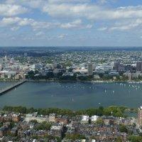 Река Чарльз (англ. Charles River) в Бостоне :: Юрий Поляков