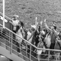 selfi on the ship :: Dmitry Ozersky