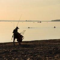 Рыбаки на Финском заливе :: Мария Кондрашова