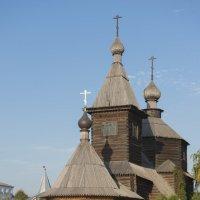 Стояла 250 лет, перевезли 40 лет назад и еще постоит.... :: Николай