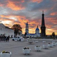 Вечернее зарево... :: Алексей Ковынев