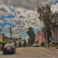 улочка, город Мышкин :: Дмитрий Анцыферов