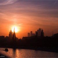 Закат над Москвой :: Anjelika Reshetnikova