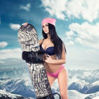 Snowboard Advertising :: Alex Ross