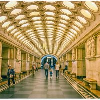 Moscow metro station :: OKCAHA Валова