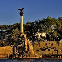 Памятник затопленным кораблям :: Марина Волкова