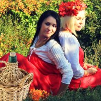 Русские красавицы. :: Наталья Малкина