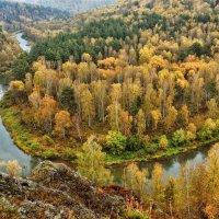 Река Бердь. Скала Зверобой :: Дмитрий Конев