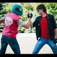 Kung Furry VS Hotline Miami :: SteelRabbit Mustache