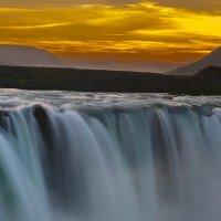 Водопад богов, Исландия :: Денис Глебов