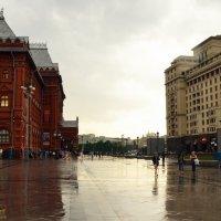 Дождь в Москве :: Владимир Болдырев
