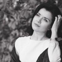 Осенний портрет в Ч/Б :: Екатерина Бармина