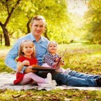 Очень позитивная семья Сергея и Алены :) :: Александр Горбачев