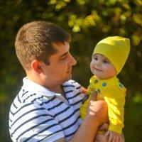 Папа и сын :: Анастасия Жигалёва