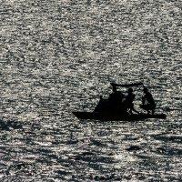 Чёрное море. Коктебель. Водяной велосипед :: Николай Ефремов