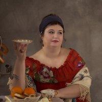 Русское чаепитие :: Наталья