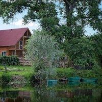Дом у реки. :: Андрий Майковский