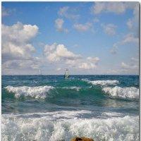 Море, море - мир бездонный, пенный шелест волн прибрежных... :: Эля Юрасова