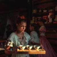 Я нежность, радость и любовь смешаю с чаем... :: Ирина Данилова