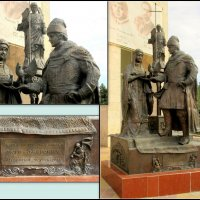 Батайск. Памятник святым Петру и Февронии :: Нина Бутко