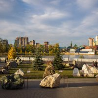 Сад камней. Краеведческий музей, г. Челябинск. :: Надежда