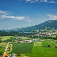 Вид из замка Грюйер (Швейцария) :: Андрей Крючков