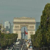 Триумфальная арка в Париже :: Юленька Шуховцева*