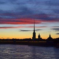 Закат над крепостью :: Наталья Левина