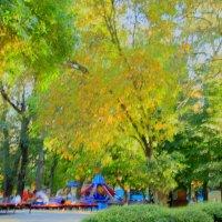 В парке, конец сентября :: Леонид