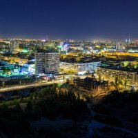 Ночной Волгоград :: Николай Быков