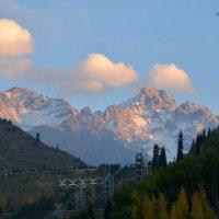 Закат в горах. :: Anna Gornostayeva
