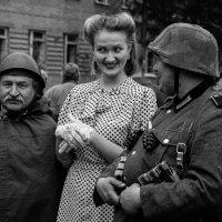 Проводы бойцов. :: Аркадий Шведов