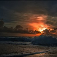 Карибский закат... :: Александр Вивчарик